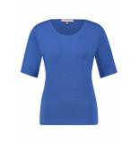 L.O.E.S. 20281 6600 loes ciss tshirt bright blue blauw