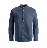 Jack & Jones Overhemd 12167089 navy r -