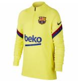 Nike Fc barcelona drill top 2019-2020 sonic yellow geel