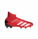 Adidas Predator 20.3 laceless fg kids active red