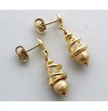 Christian 14 karaat gouden oorbellen