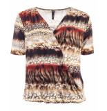 Ned T-shirt bailey safari oranje