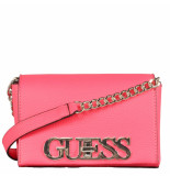 Guess Uptown chic mini xbody flap roze
