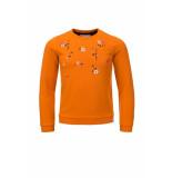 Looxs Revolution Sweater met borduursels voor meisjes in de kleur