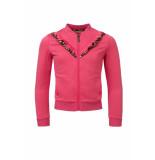 Looxs Revolution Pink vestje voor meisjes in de kleur