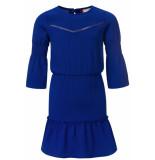 Looxs Revolution Kobalt chiffon jurk voor meisjes in de kleur