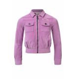 Looxs Revolution Lila corduroy jacket voor meisjes in de kleur