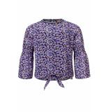Looxs Revolution Chiffon flower top voor meisjes in de kleur