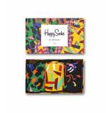 Happy Socks Xaan08-7300 abstract animal gift box