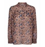 Co'Couture Valentine blouse bruin