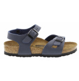 Birkenstock Cl. rio navy narrow easy nubuck blauw