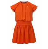 Looxs Revolution Roest kleurig jurkje voor meisjes in de kleur