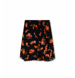 Alix 201240444 ladies woven short flowers chiffon skirt