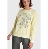 Alix 201893536 ladies knitted claw sweater goud