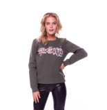 Colourful Rebel Sweat 8223 wild hearted green -