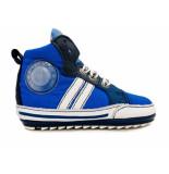 Shoesme Veterschoenen flex baby proof blauw