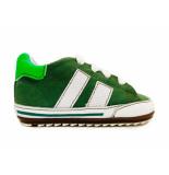 Shoesme Veterschoenen flex baby proof groen