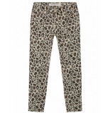 Circle of Trust Broek poppy cropped leopard bruin