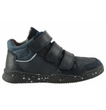 Braqeez Tim terra jongens sneakers blauw
