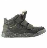 Braqeez Tim terra jongens sneakers zwart