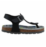 Braqeez 418071-589 jongens sandalen zwart