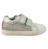 Bunnies Jr. 218311-991 meisjes sneakers zilver