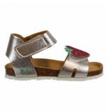 Bunnies Jr. Becky beach meisjes sandalen zilver