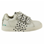 Bunnies Jr. Laurens louw meisjes sneakers wit