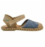 Bunnies Jr. 219052-327 meisjes sandalen blauw