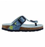 Braqeez 418070-627 jongens sandalen blauw