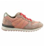 Braqeez 419220-470 meisjes veterschoenen roze