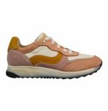 Braqeez 419271-470 meisjes veterschoenen roze