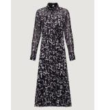 Marella Acerbi 002 jurk zwart