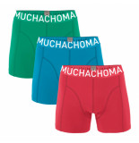 Muchachomalo Boys 3-pack short solid/solid
