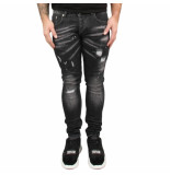 Richesse Sevilla dark jeans zwart