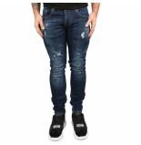 Richesse Funes bleu jeans blauw