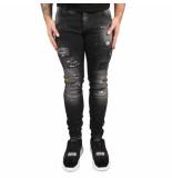 Boragio Jeans zwart