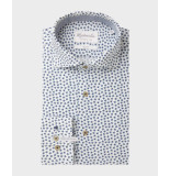 Michaelis Bijenprint overhemd (extra lange mouw)