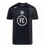 Nike T-shirt fc ss black