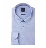 Profuomo Overhemd originale blauw button down slim fit