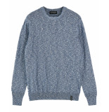 Scotch & Soda Pullover 155498 blauw