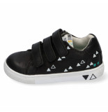 Bunnies Jr. Laurens louw jongens sneakers zwart