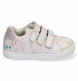 Bunnies Jr. Laurens louw meisjes sneakers wit