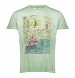 BoB T-shirt print popeye pop7 groen