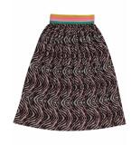 Funky XS Rok zebra skirt bruin