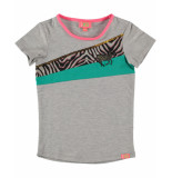 Funky XS T-shirt colour block