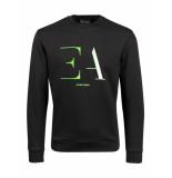 Emporio Armani Logo sweater zwart