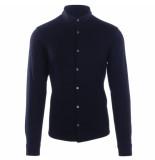 Emporio Armani Jersey shirt navy blauw