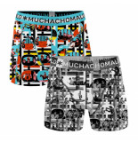 Muchachomalo Boys 2-pack shorts color television