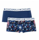 Muchachomalo Ladies 2-pack short flower power
